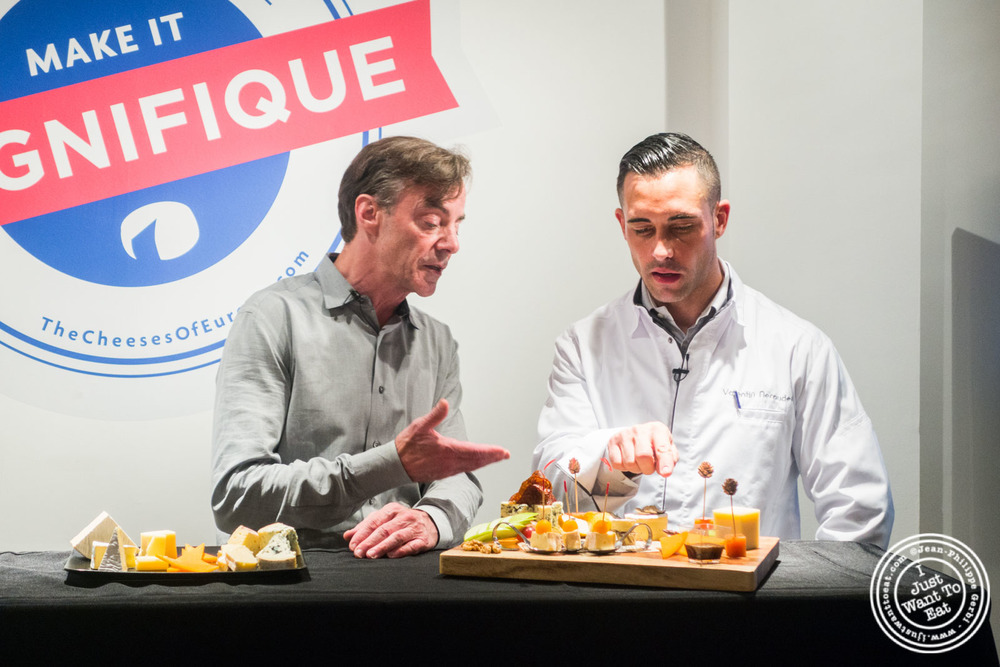 Max Mc  Calman and Chef Valentin Néraudeau   at The French Cheese Board