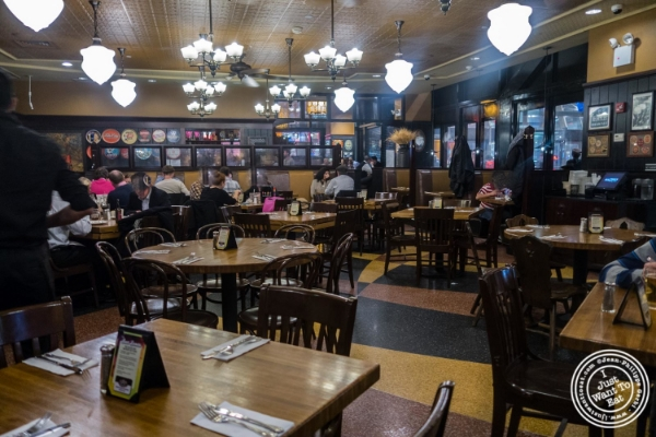 Dining room at Heartland Brewery in New York, NY