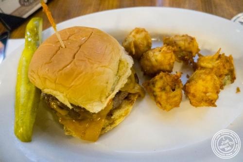 Burger atHeartland Brewery in New York, NY