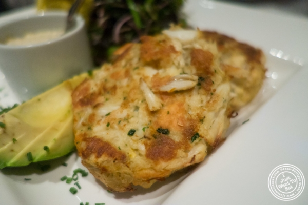 Crab cakes   at Mastro's Steakhouse in New York, NY