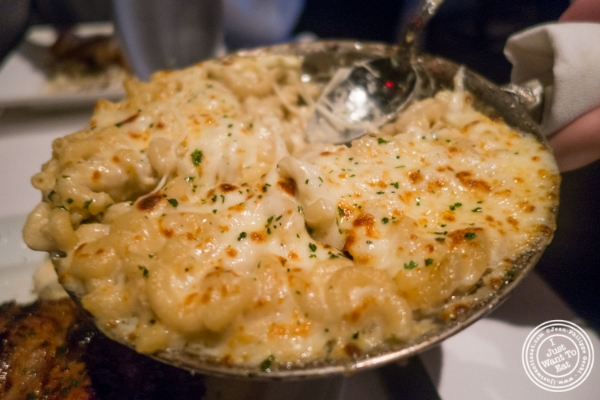 Gorgonzola Mac and Cheese   at Mastro's Steakhouse in New York, NY