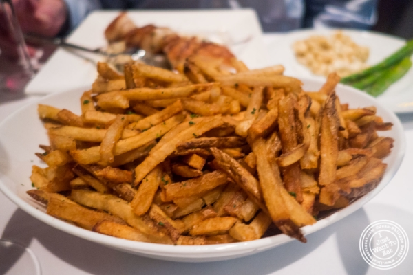 French fries at Mastro's Steakhouse in New York, NY
