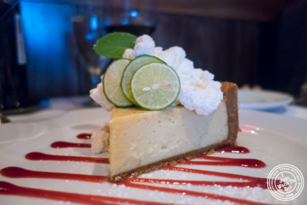 Key lime pie   at Mastro's Steakhouse in New York, NY