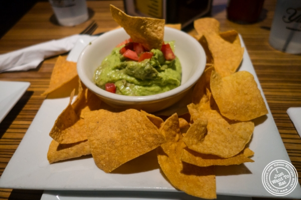 Homemade guacamole at Mikie Squared in Hoboken, NJ