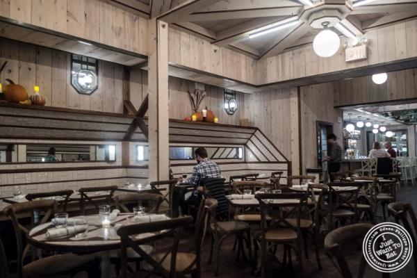 Dining room atTelepan Local in TriBeCa, New York, NY