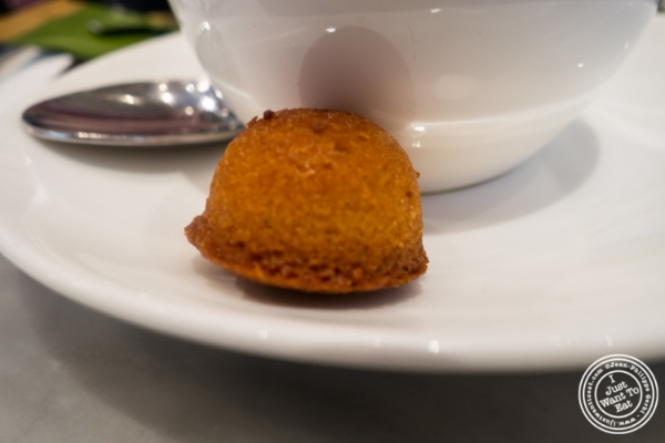 Financier at Maison Kayser in New York, NY