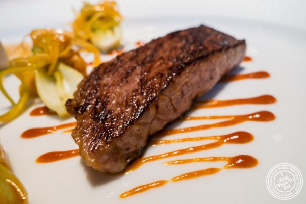 kobe beef at Le Bernardin in New York, NY