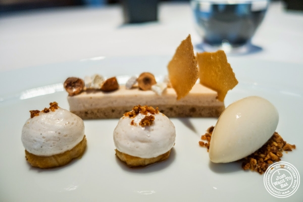 banana dessert at Le Bernardin in New York, NY