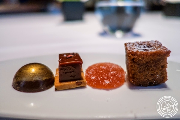 sweets at Le Bernardin in New York, NY