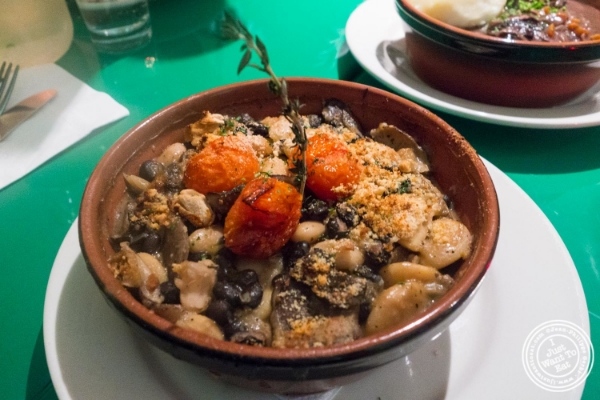 Cassoulet at Le Village in New York, NY