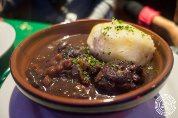 Coq au vin at Le Village in New York, NY