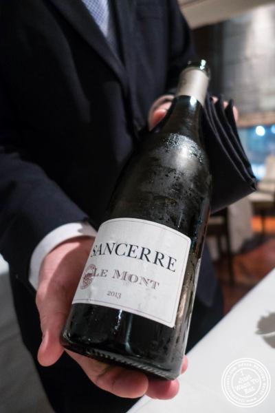 Sancerre wine atAi Fiori in New York, NY