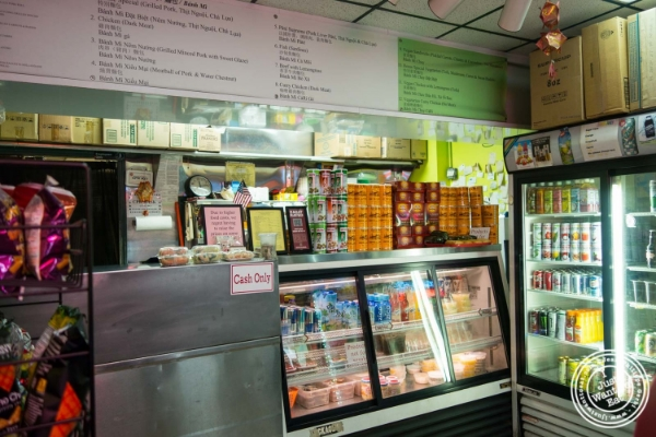 Inside of Saigon Vietnamese Sandwich Deli in New York, NY
