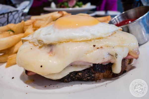 Croque Monsieur at   Landmarc in Tribeca, New York, NY
