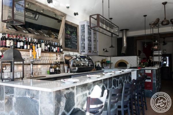 Bar at Via Vai  in Astoria, NY