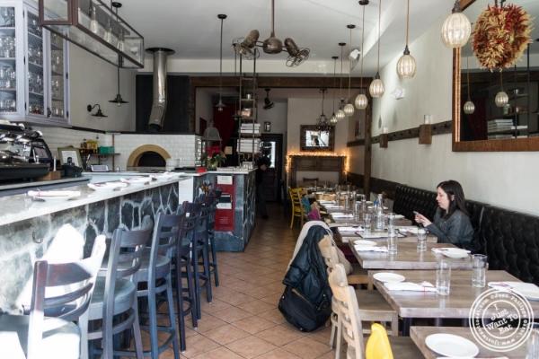 Dining room at Via Vai  in Astoria, NY