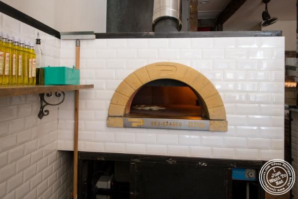 Brick oven atVia Vaiin Astoria, NY
