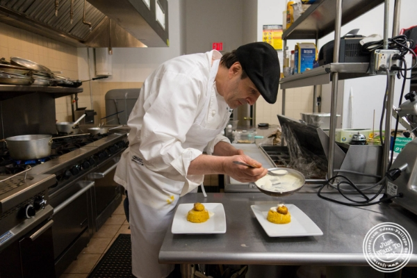 Chef Antonio Morichini ofVia Vaiin Astoria, NY