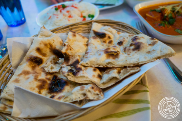 Naan  at Aaheli in Hell's Kitchen, New York, NY