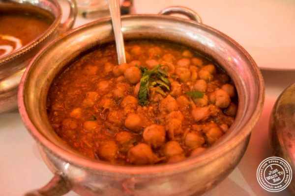 Chana Masala at Devi, Indian restaurant in NYC, New York