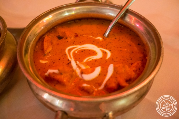 Chicken Tikka Masala at Devi, Indian restaurant in NYC, New York