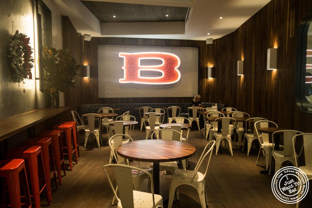 Dining room atBaked, Bakery in TriBeca, New York, NY