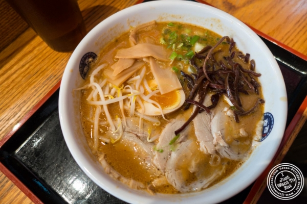 Miso Ramen at   Terakawa Ramen in NYC, New York