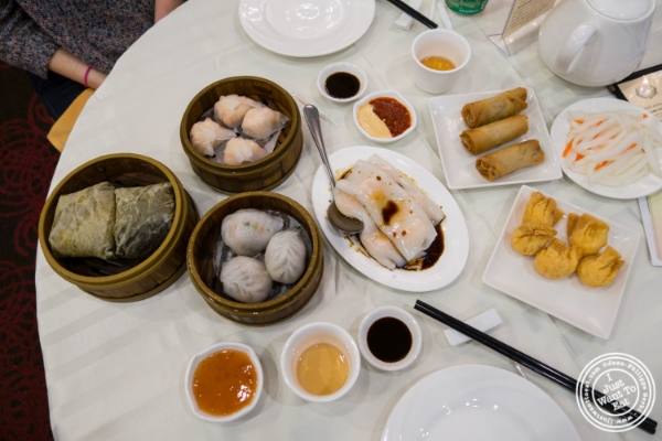 Dim sum at Jing Fong, Dim Sum Restaurant in Chinatown, New York, NY