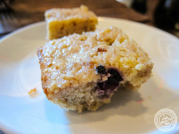 Blueberry muffin at Bobo in NYC, New York