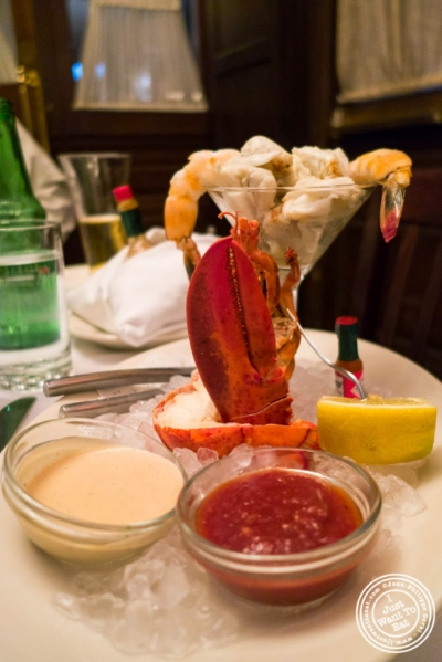 seafood bouquet at Bobby Van's Grill in New York, NY