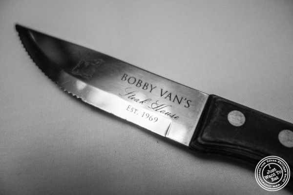 steak knife at Bobby Van's Grill in New York, NY