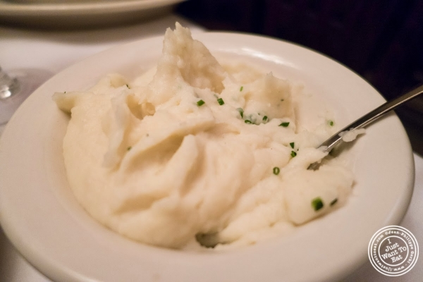 mashed potatoes at Bobby Van's Grill in New York, NY