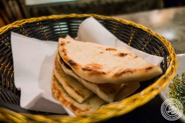 Pita at Turkish Cuisine in Hell's Kitchen, NYC, New York