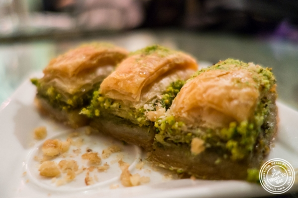 Baklava at Turkish Cuisine in Hell's Kitchen, NYC, New York