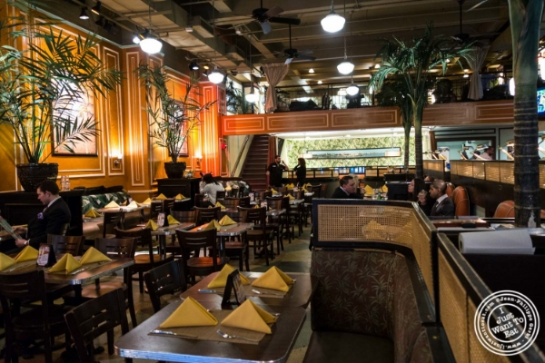 Dining room at Havana Central, Cuban food near Times Square, NYC, New York