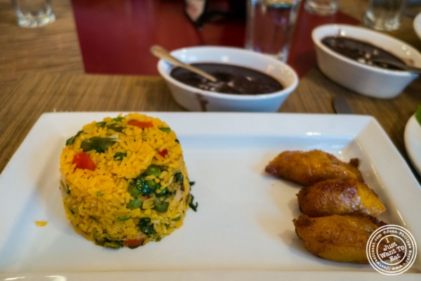 Arroz con pollo at Havana Central, Cuban food near Times Square, NYC, New York