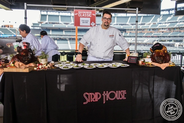 Strip House - Black pepper smoked bacon at Citi Field, home of the NY Mets