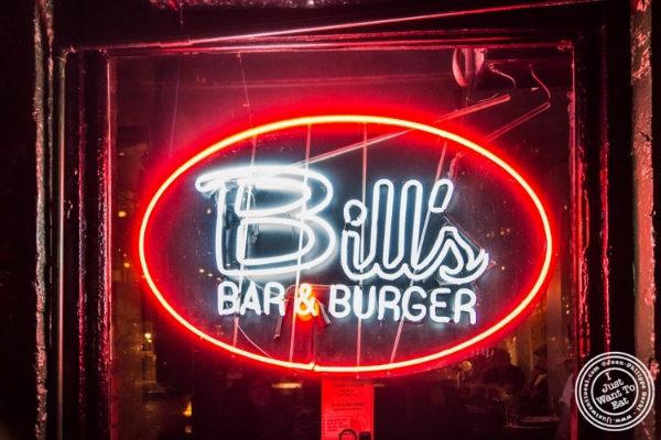 Bill's Bar and Burger in the Meatpacking District, NYC, New York