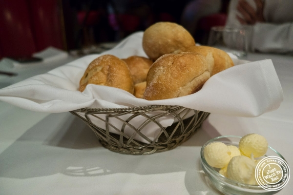 bread basket at The Russian Tea Room in NYC, NY