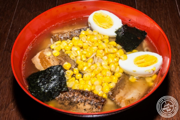 Recipe: Ramen with pork and chicken broth