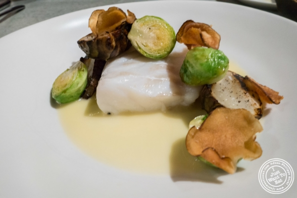 Roasted cod at Blenheim in NYC, New York