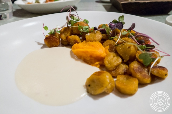 Sweet potato gnocchi at Blenheim in NYC, New York