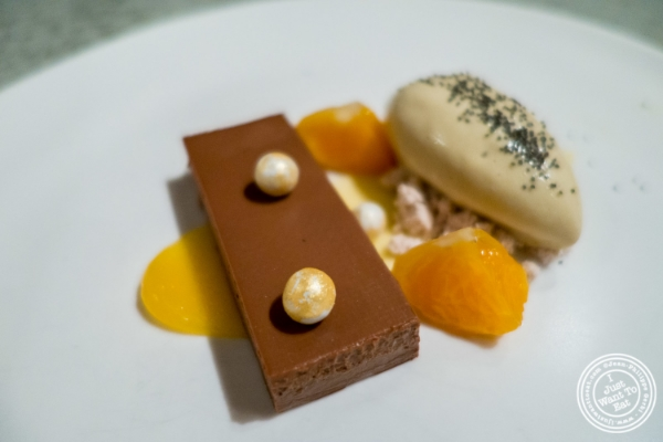 Chocolate crémeux at Blenheim in NYC, New York