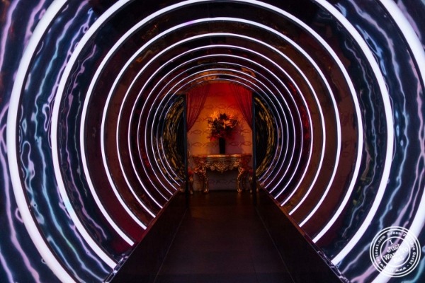 The tunnel at Fushimi in Williamsburg, Brooklyn, NY