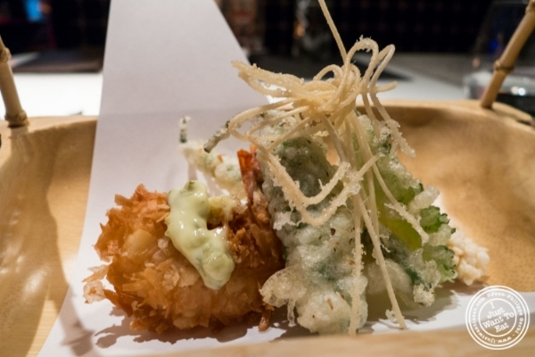 Tempura     at Fushimi in Williamsburg, Brooklyn, NY