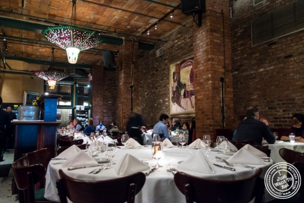 Dining room at Tribeca Grill in NYC, New York