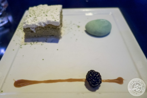 Dessert trio at   Koi Soho in the Trump Hotel, NYC, New York