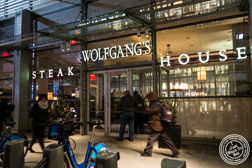 wolfgang 39 s steakhouse in times square new york ny i just want to