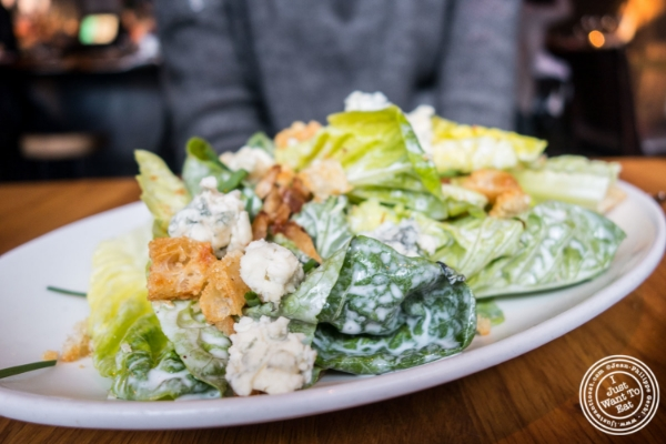 Bibb salad at L'Apicio, Italian-inspired restaurant in Greenwich Village