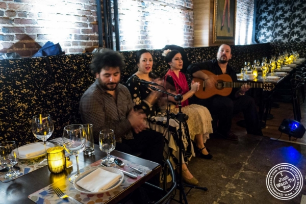 Flamenco at Tablao, Tapas restaurant in TriBeCa, NYC, New York